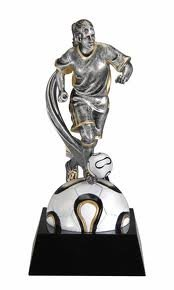 Female Soccer Motion Extreme Trophy by extreme mo
