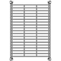 Blanco 233535 Stainless Steel Floating Sink Grid (Fits Precis Super Single) by Blanco