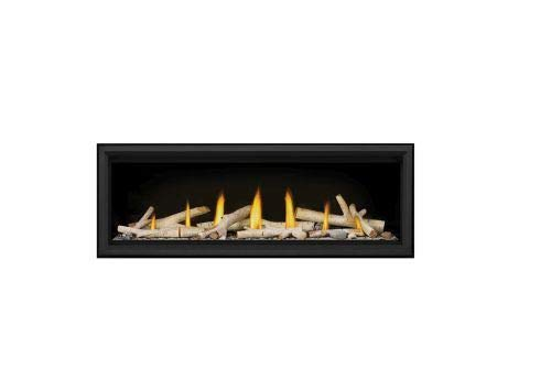 Vector LV50 Direct Vent Single Sided Gas Fireplace Package1 - NG