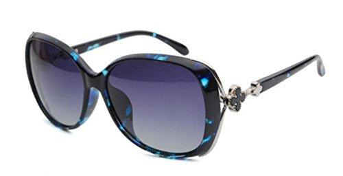 Beach La MSNHMU Biker Cumpleaños Sunglasses Sra Street Regalo Blue De Polarized qI1wSA