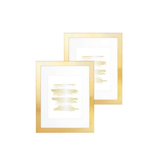 Set of 2, 11x14 Yellow Gold ()
