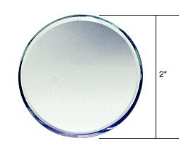 CRL Clear Mirror Round Shape Glass Mirror Baguettes MB22R