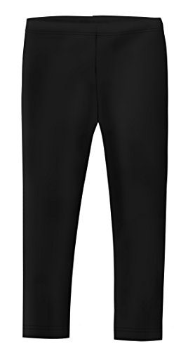 Halloween In The Usa (City Threads Girls' Leggings 100% Cotton for School Uniform Sports Coverage or Play Perfect for Sensitive Skin or SPD Sensory Friendly Clothing, Black,)