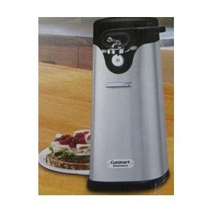 Cuisinart Deluxe Stainless Steel Electric Can Opener Amazoncouk