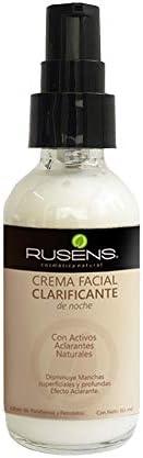 Rusens - Crema Facial Clarificante 100% Natural, Disminuye Manchas Superficiales y Profundas