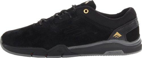 Emerica , Chaussures de skateboard pour homme Noir/Gris Foncé