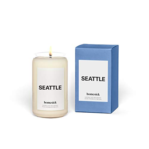 Homesick Scented Candle, Seattle (2020 Version)