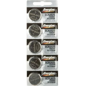 Price comparison product image CR2025 Energizer Lithium Batteries (1 pack of 5)