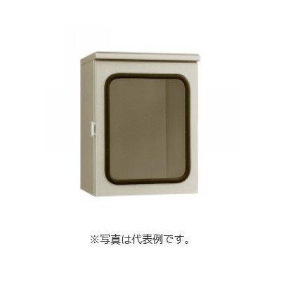 河村電器産業 屋外用鉄板製 窓付盤用キャビネットWO6 クリーム B01FVO2EVW