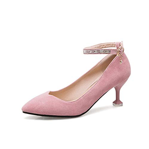36 MMS06183 1TO9 Inconnu Sandales Rose Compensées Femme Rose 5 qCwT0w5