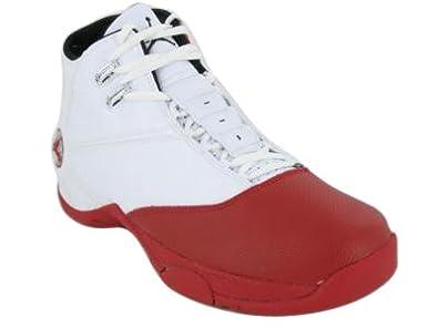 034d205c63d9 Jordan 12.5 Team Mens Basketball Shoes (White Varsity Red-Black) 14