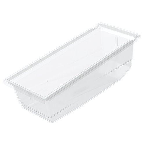 Akro-Mils 36220 17 1/2-Inch Long x 6 5/8-Inch Wide x 6 1/2-Inch Tall Plastic Universal Hanging Nesting Shelf Bin, Clear, (Akro Mills Container)