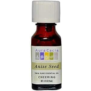 Aura Cacia 100% Pure Essential Oil Anise Seed -- 0.5 fl oz