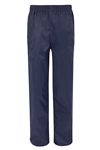 Mountain Warehouse Pakka Mens Rain Pants - Waterproof Hiking Pants Navy XXX-Large