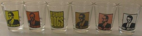 Reservoir Dogs 6pk Shotglasses