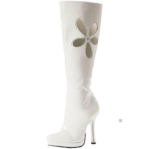 Go Go Boots Hippie Girl Disco 60s 70s Gogo Dancer Costume Shoes Fancy Dress - 70s Go Go Dancer