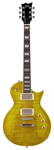 ESP LTD EC-256FM Electric Guitar, Lemon Drop