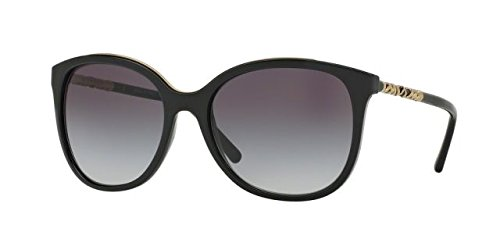 Burberry Women's 0BE4237 Black/Gray Gradient - Case Burberry Sunglasses