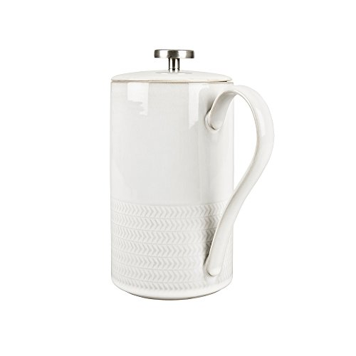 Denby USA Natural Canvas Textured French Press