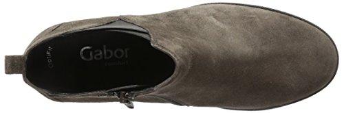 Gabor Shoes 52 2/31 - Botas cortas para mujer Gris (anthrazit (Micro) 30)