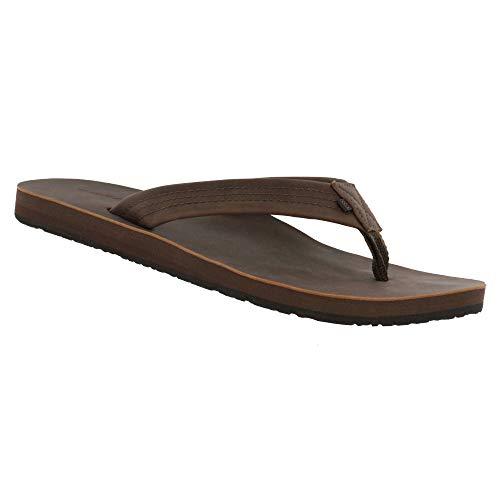 Cobian Men's Las Olas 2 Brown Flip Flops, 11