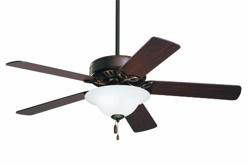Oil Rubbed Bronze Fan Blades (Emerson Ceiling Fans CF712WORB Pro Series Ceiling Fans, Indoor Ceiling Fan with Light, 50-Inch Blades, Oil Rubbed Bronze Finish)