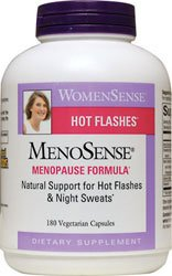 Natural Factors MenoSense Veg-Capsules, 180-Count