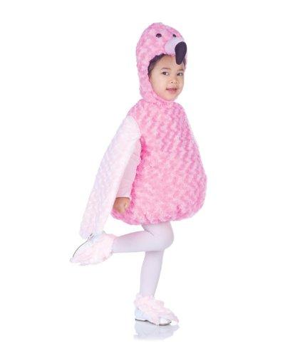 Underwraps Costumes Baby's Flamingo Belly-Babies, Pink, (Infant Flamingo Costume)