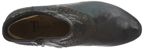 Think! AIDA Stiefelette - botas de cuero mujer negro - negro (SZ/KOMBI 09)
