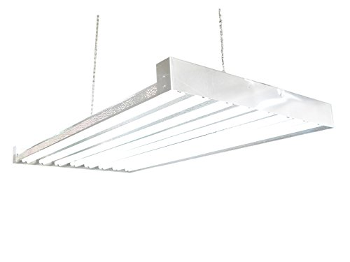 T5 HO Grow Light | 4 FT 16 Bulbs | DL8416 | Fluorescent Hydroponic Indoor Fixture | Veg Bulbs