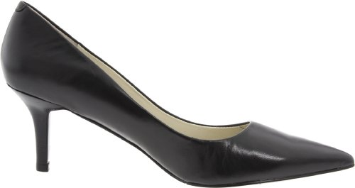 Nine West Women's Austin Pump,Black Leather,8 M US