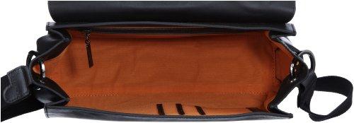 Bugatti Bags Marlene Hobotasche 496697, Damen Umhängetaschen, Beige (sandfarben 54), 38x21x17 cm (B x H x T) Schwarz (Schwarz 01)