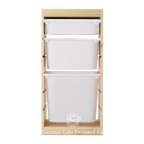 IKEA TROFAST(トロファスト)収納コンビネーション PT-WS1WM1WL1