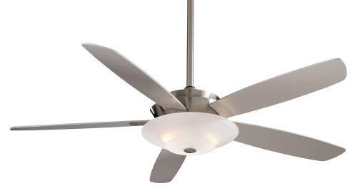 Minka-Aire F598-BN, Airus, 54'' Ceiling Fan with Light, Brushed Nickel by Minka-Aire