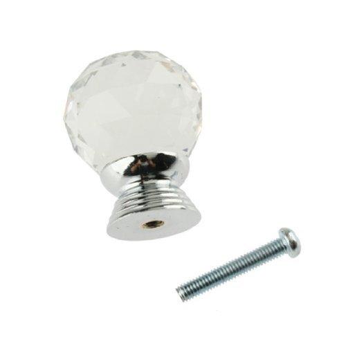 vktech glass clear cabinet knob - 2
