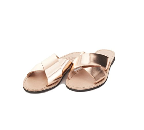40 Sandalo Miriana Cuoio Rame Erredibi Donna In 1976 45X5qY