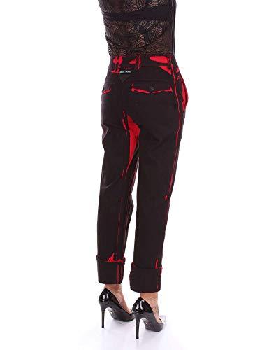 Pantalone Prada GFP3971QEI Nero Donna Fantasia Uqwqa