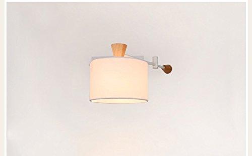 Zhdc american country lampada da parete del salone luci studio
