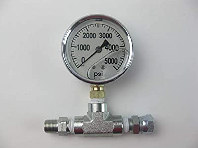 Pressure Gauge Assembly for Airless Sprayers same as Titan 730-397
