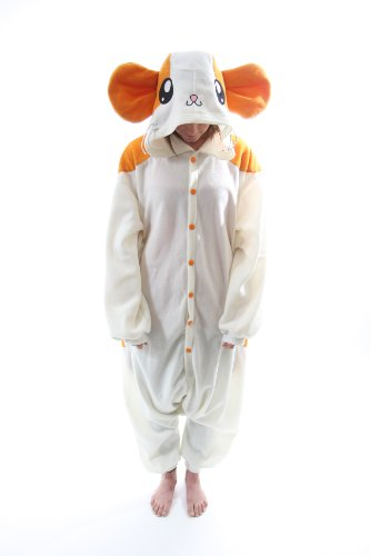Bcozy Women's Hamster Z Adult Sized Costumes, Tan/White, Standard (Hamster Costume For Adults)