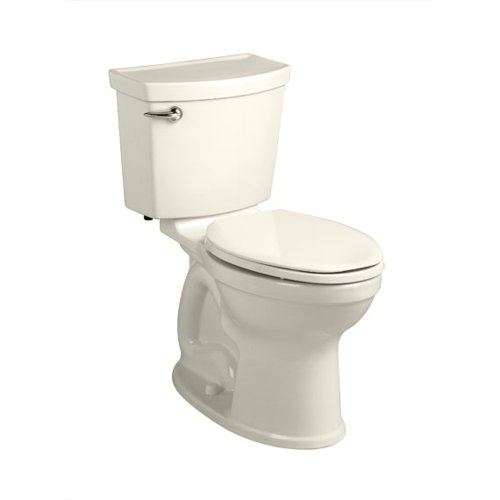 - American Standard 241AA104.222 Champion-4 HET Right Height Elongated Toilet (2 Piece), Linen