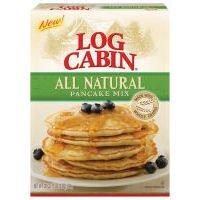 Log Cabin Pancake Mix All Natural