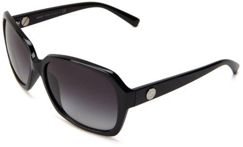 DKNY 0DY4087 30018G Rectangular Sunglasses,Black,59 mm