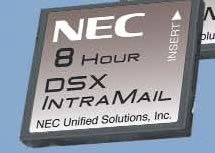 VM DSX IntraMail 4Port 8Hr VoiceMail by NEC DSX Systems