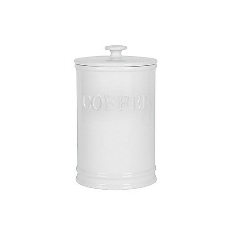 Everyday White® by Fitz and Floyd Bistro Coffee Canister by Everyday White®