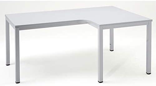 eurokraft escritorio metálico – con bandeja HPL – L x P x H 1800 x ...