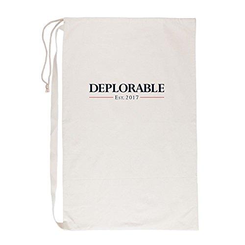CafePress - Deplorable Est 2017 - Laundry Bag, 23