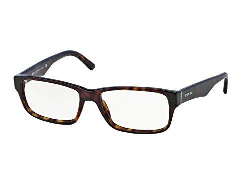 PRADA Men PR 16MV - 2AU1O1, Designer Eyeglasses Caliber 55