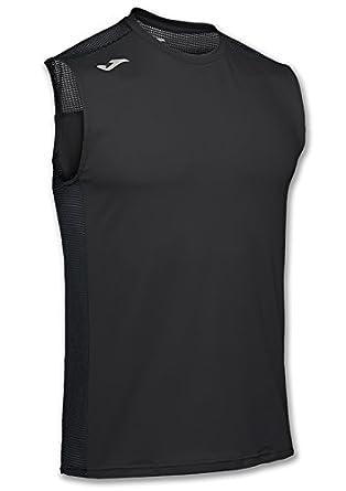 Joma Hybrid Red Sleeveless T-Shirt S