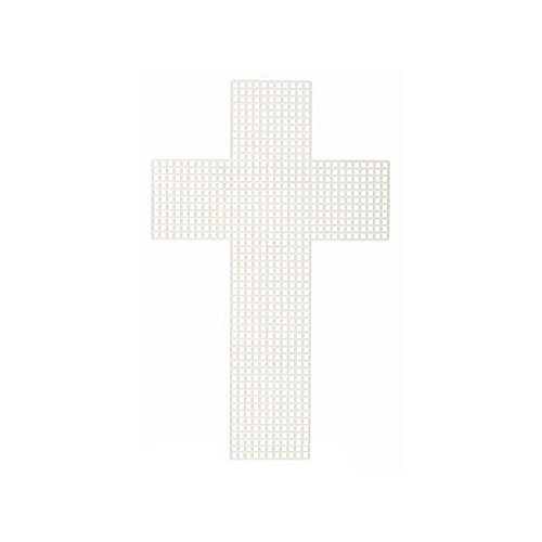 Cross-Shaped Plastic Canvas - 3 inches (10 Pieces/Pack)